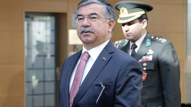 Le ministre turc de la Défense, Ismet Yilmaz, le 21 février 2013 à Bruxelles [Thierry Charlier / AFP/Archives]