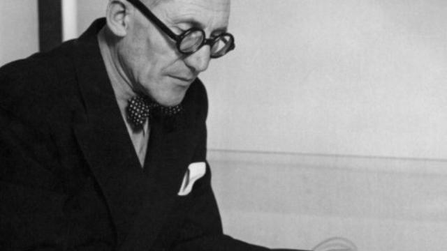 L'architecte franco-suisse Le Corbusier à Paris, le 1er janvier 1961 [- / AFP/Archives]