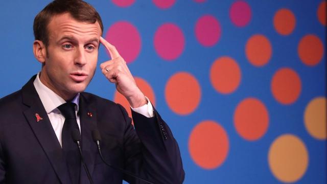 Emmanuel Macron, au sommet du G20 Buenos Aires le 1er décembre [Ludovic MARIN / AFP/Archives]