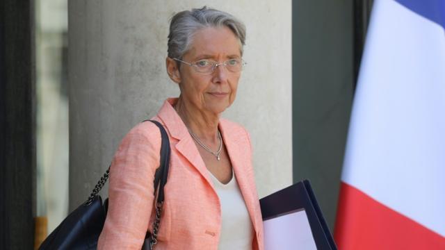 Elisabeth Borne sur le perron de l'Elysée, le 3 juillet 2019 à Paris [ludovic MARIN / AFP/Archives]