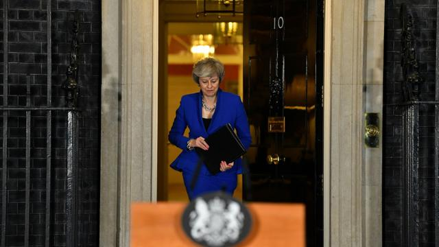 Theresa May, le 16 janvier 2019 à Londres [Ben STANSALL / AFP/Archives]