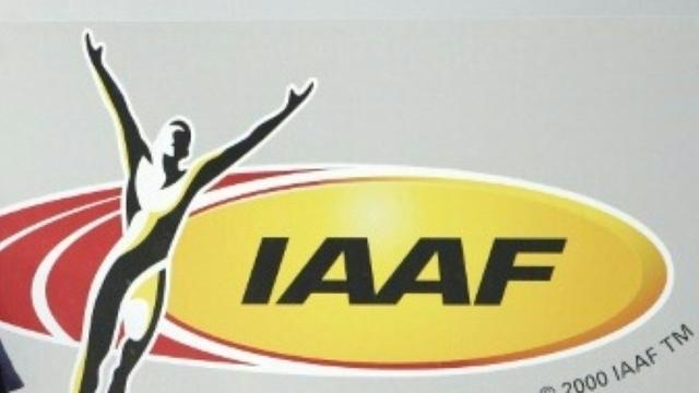 """La Fédération internationale d'athlétisme (IAAF) a voté la suspension provisoire de la Fédération russe de toute compétition sans durée déterminée, à la suite des accusations de """"dopage organisé"""" portées par l'Agence mondiale antidopage [Adrian Dennis / AFP/Archives]"""