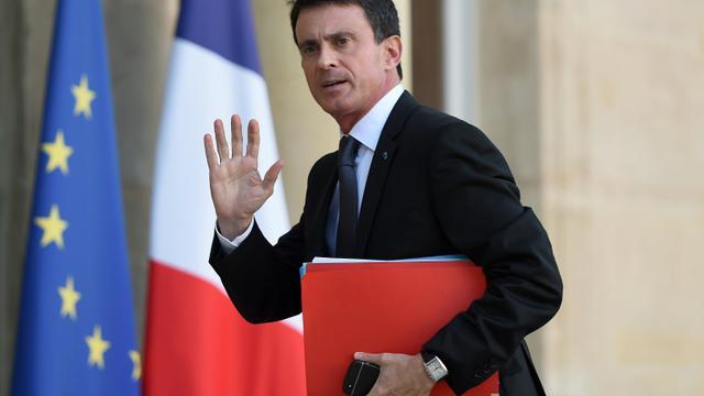 Le Premier ministre Manuel Valls, le 15 novembre 2015, à L'Elysée  [STEPHANE DE SAKUTIN / AFP/Archives]