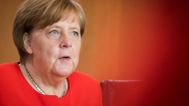 La chancelière allemande Angela Merkel à Berlin le 30 mai 2018 [Odd ANDERSEN / AFP/Archives]