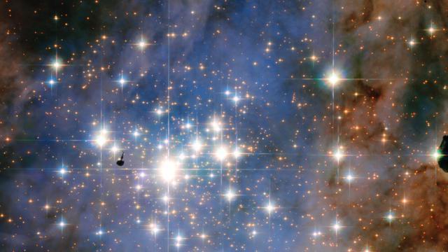 Photo fournie par l'Agence Spatiale européenne montrant une constellation d'étoiles dans la Voie Lactée, le 21 janvier 2016 [- / EUROPEAN SPACE AGENCY/AFP/Archives]