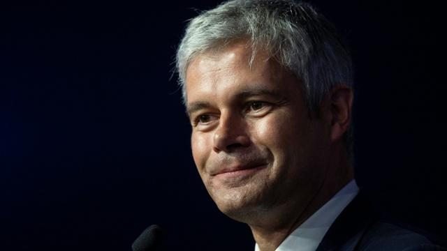 Laurent Wauquiez le 16 mars 2019 à Lyon [ROMAIN LAFABREGUE / AFP/Archives]