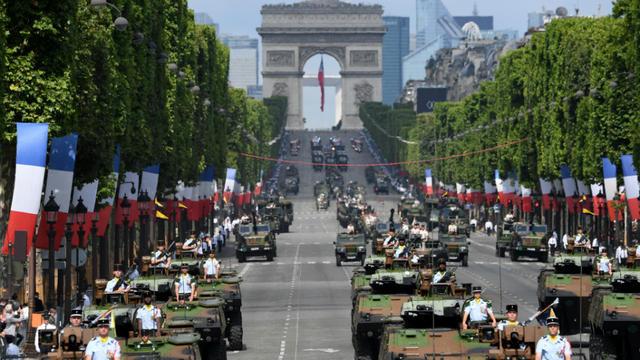 Lu0027histoire Du Défilé Militaire 14 Juillet Trouve Son Origine Dans La Guerre  Franco Prussienne De 1870. [ALAIN JOCARD / AFP]