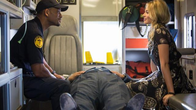 "Will Smith et Margot Robbie dans ""Diversion"" de John Requa et Glenn Ficarra."