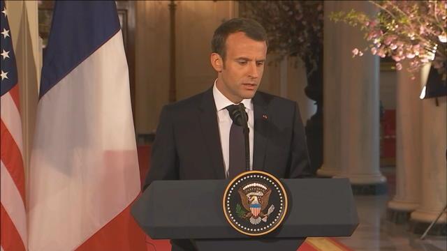 Macron demande un nouvel accord sur le nucléaire iranien