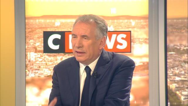 François Bayrou: «On entend une voix différente de la part de la France»