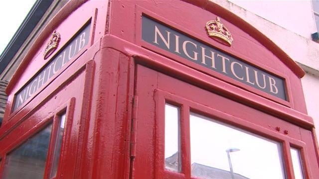 Boîte de nuit téléphonique
