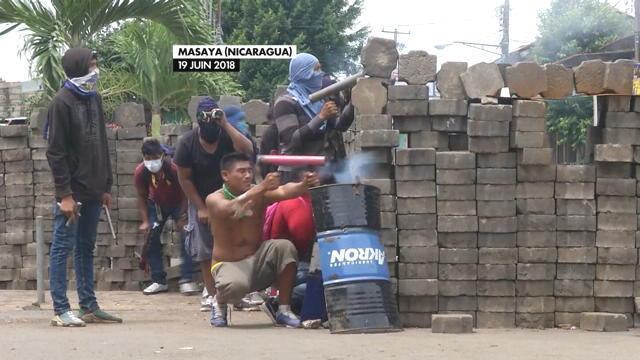 Violents affrontements au Nicaragua