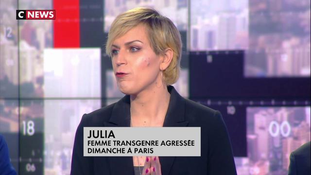 Julia, femme transgenre agressée dimanche à Paris : « Un traumatisme et une humiliation »