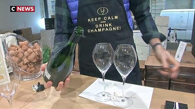 Le champagne reste l'une des stars du réveillon