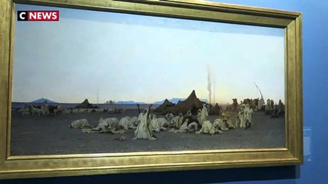 La colonisation de l'Algérie en peinture avec l'expo Gustave Guillaumet
