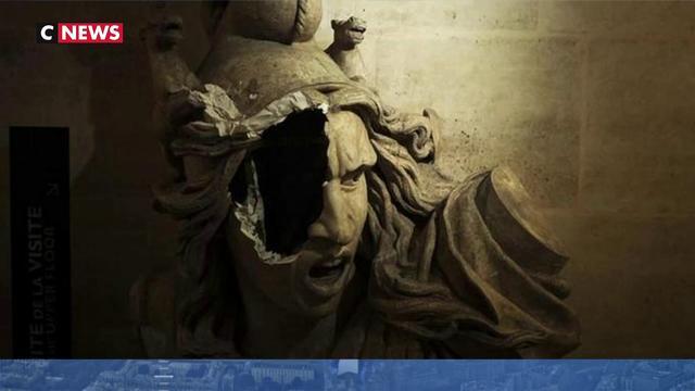 La restauration des œuvres de l'Arc de triomphe