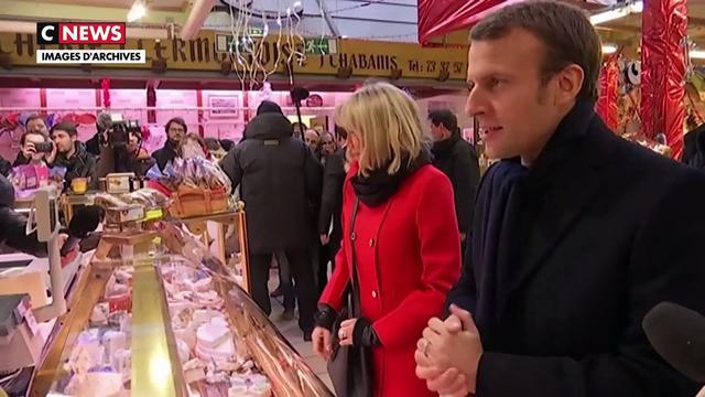 Brigitte Macron et l'apaisement
