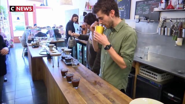 Le champion de France de café dans la catégorie dégustation est Lillois