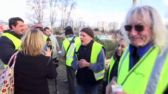 """""""Gilets jaunes"""" : la mobilisation se poursuit à Marseille"""