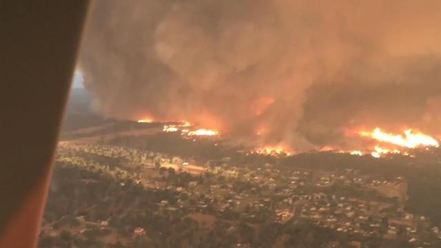 Incendies en Californie : une tornade de feu détruit tout sur son passage