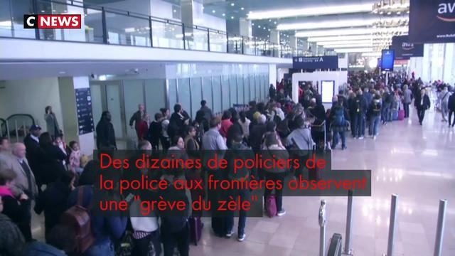 Colère de la police des frontières : pagaille dans les aéroports