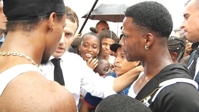 Emmanuel Macron dédramatise le doigt d'honneur de Saint-Martin