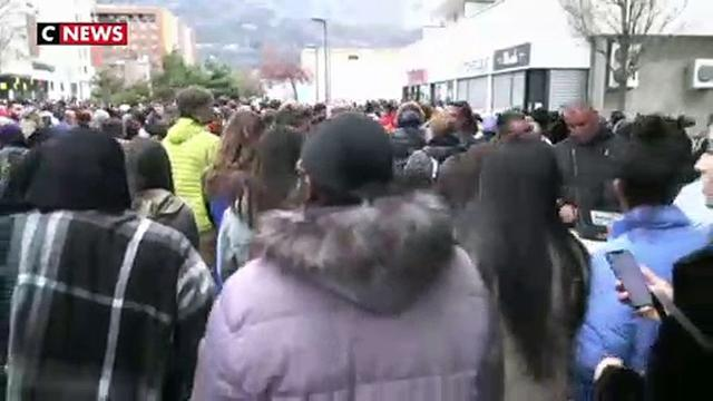 Grenoble : une marche blanche pour les deux jeunes du quartier Mistral