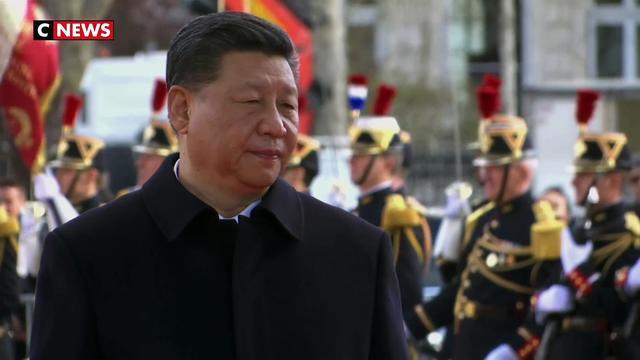 Acr de Triomphe : Emmanuel Macron déroule le tapis rouge pour Xi Jinping