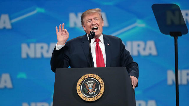 Comme il l'avait fait il y a un an, presque jour pour jour, devant la même audience, le milliardaire républicain est longuement revenu sur cette sombre journée du 13 novembre.