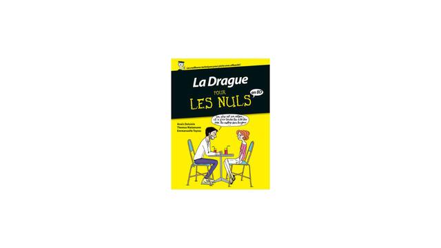 """First et Delcourt coéditent """"La drague pour les nuls"""" et """"La grossesse pour les nuls"""" en bande dessinée."""