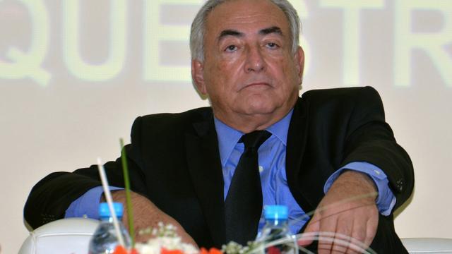 Dominique Strauss-Kahn le 21 septembre à Marrakech.