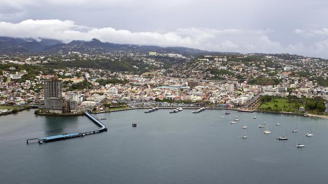 Emile Capgras est décédé dans la nuit de mercredi à jeudi à Fort-de-France (Martinique) à l'âge de 88 ans [Patrice Coppee / AFP]
