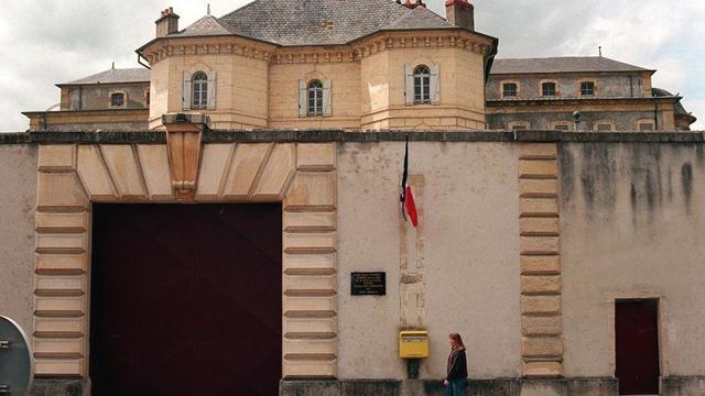 La maison d'arrêt de Nevers, le 9 mai 1996 [Samira Bouhin / AFP/Archives]