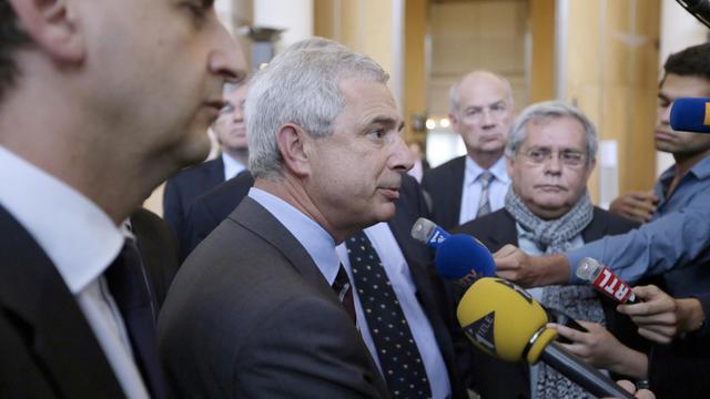 Claude Bartolone, président du Conseil général de Seine-Saint-Denis, le 13 juillet 2012 à Paris [Kenzo Tribouillard / AFP/Archives]