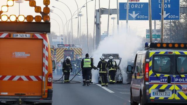 En juillet, 346personnes ont perdu la vie sur les routes de France métropolitaine, contre 356 en juillet 2016 [GEOFFROY VAN DER HASSELT / AFP/Archives]