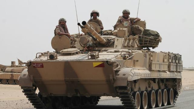 Des soldats yéménites, le 3 août 2015 près d'Aden [SALEH AL-OBEIDI / AFP/Archives]
