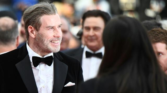 L'acteur américain John Travolta à Cannes, le 15 mai 2018 [Anne-Christine POUJOULAT             / AFP/Archives]