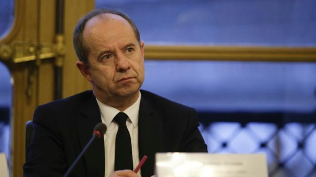 Jean-Jacques Urvoas le 26 février 2017 à Paris [GEOFFROY VAN DER HASSELT / AFP/Archives]