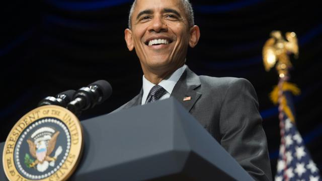 Le président américain Barack Obama le 5 novembre 2015 à Washington [SAUL LOEB / AFP/Archives]