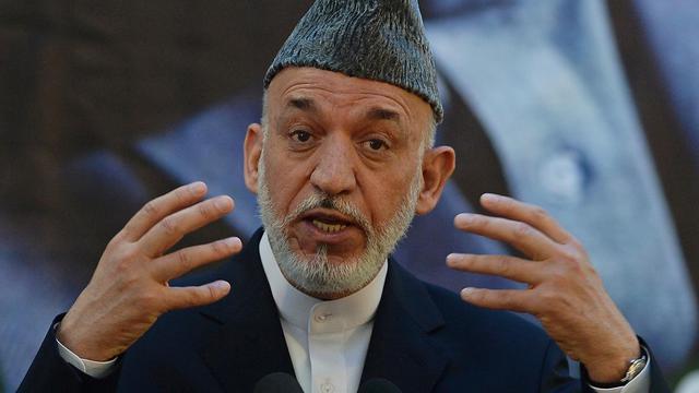 Le président afghan Hamid Karzaï, le 18 juin 2013 à Kaboul  [Shah Marai / AFP]
