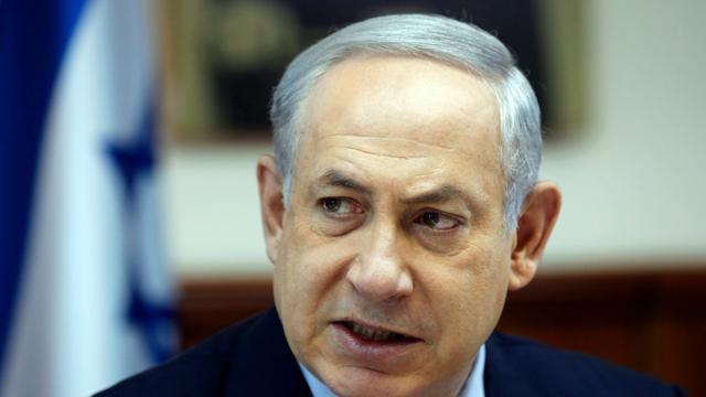 Le Premier ministre israélien Benjamin Netanyahu, le 15 novembre 2015 à Jérusalem [RONEN ZVULUN / POOL/AFP/Archives]