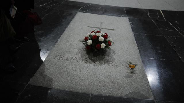 La tombe de Franco à Valle de los Caidos le 17 novembre 2012 [Pedro Armestre / AFP/Archives]
