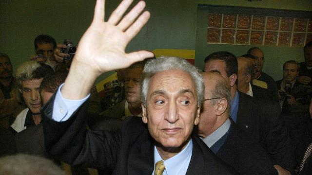 L'opposant algérien Hocine Aït-Ahmed, le 31 octobre 2004 à Alger  [HOCINE ZAOURAR / AFP/Archives]
