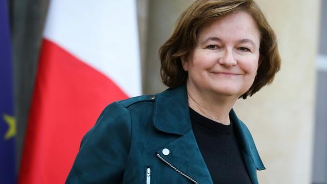 La ministre des Affaires européennes Nathalie Loiseau, le 30 janvier 2019 à l'Elysée, à Paris [LUDOVIC MARIN / AFP/Archives]