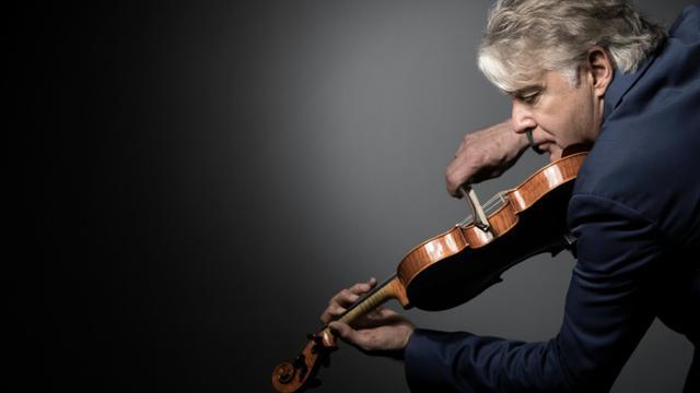 Le célèbre violoniste de jazz Didier Lockwood, le 31 mai 2017 à Paris [JOEL SAGET / AFP/Archives]