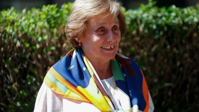 Ernestine Ronai, militante historique de la lutte contre les violences faites aux femmes, le 22 août 2019 à Paris [Zakaria ABDELKAFI / AFP/Archives]