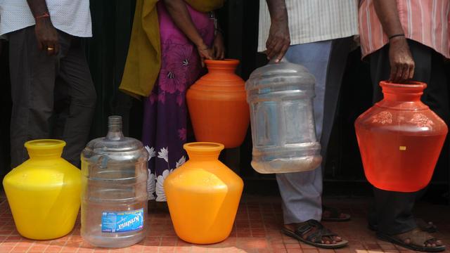 L'ONU prévoit que 14% de la population mondiale sera confronté à des pénuries d'eau en 2025.