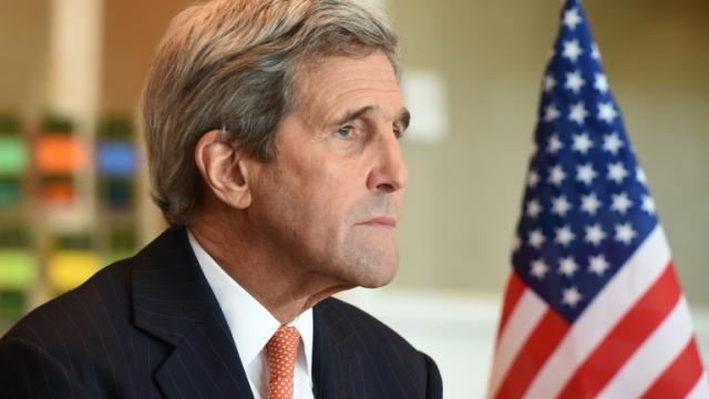 Le chef de la diplomatie américaine John Kerry, le 11 février 2016 à Munich [Christof STACHE / AFP]