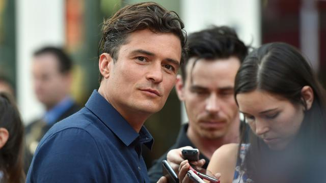 Orlando Bloom à Hollywood le 13 août 2015 [Alberto E. Rodriguez / GETTY IMAGES NORTH AMERICA/AFP/Archives]