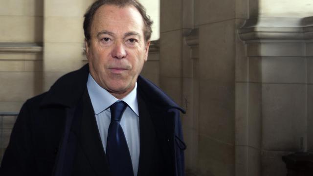 L'ancien distributeur du Taser en France, Antoine Di Zazzo, le 29 novembre 2012 au Palais de justice, à Paris [Joel Saget / AFP/Archives]